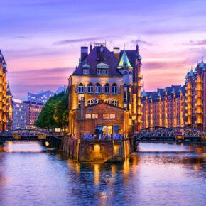24h Sale: 2 Tage Hamburg am Wochenende im TOP 4* AWARD Ameron Hotel mit Frühstück ab 74€