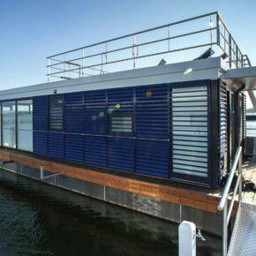 Hausboot Ribnitz-Damgarten Aussen
