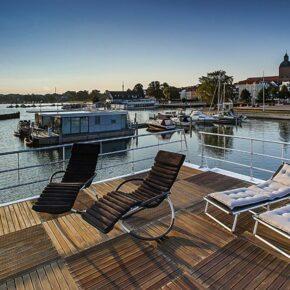 Hausboot Ribnitz-Damgarten Liegestühle