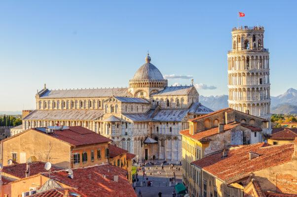 Italien Pisa Kathedrale Turm