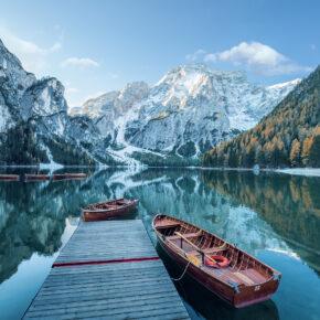 Wochenende in Italien: 5 Tage Pragser Wildsee mit tollem Apartment nur 89€
