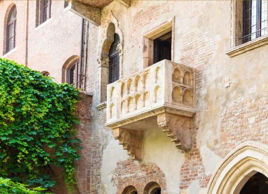 Italien Verona Balkon