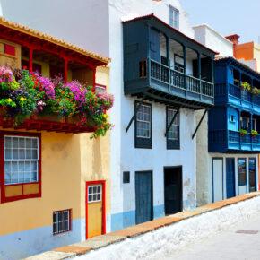 Kanaren La Palma Santa Cruz