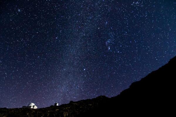 Kanaren La Palma Sterne