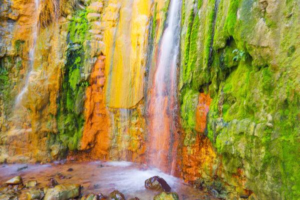 Kanaren La Palma Wasserfaelle