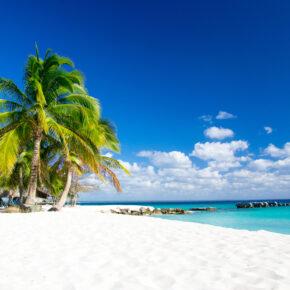 Karibik Weisser Sandstrand