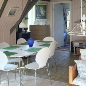 Ferienhaus Kattegatküste Esszimmer
