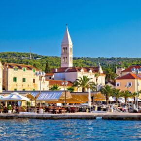 Kroatien: 8 Tage im tollen Apartment mit Meerblick & Flug nur 140€