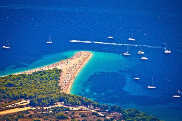 Kroatien Brac Topview