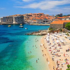 Ab nach Kroatien: 5 Tage Dubrovnik mit toller Unterkunft & Flug nur 121€