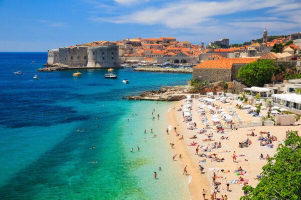 Kroatien Dubrovnik Strand