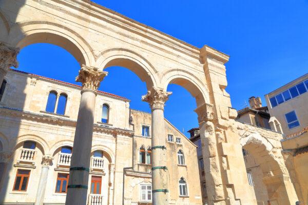 Kroatien Split Altstadt
