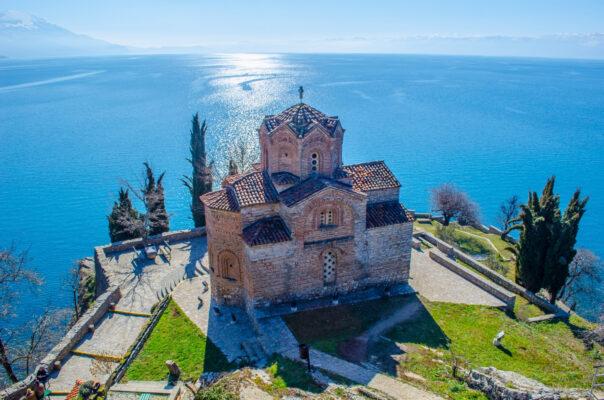 Mazedonien Ohrid Kirche