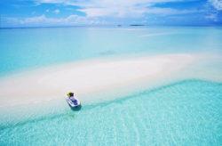 Traumurlaub: 10 Tage auf den Malediven im guten 4* Resort mit All Inclusive, Flug & Tran...