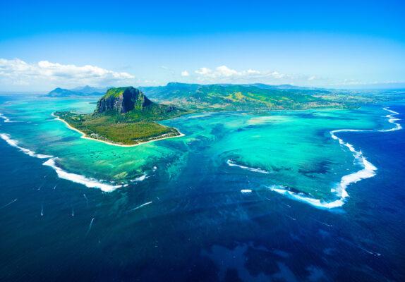 Mauritius Luftbild Panorama
