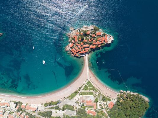 Montenegro Budva Topview