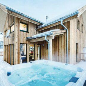 Skiurlaub in Österreich: 4 Tage in Wintervilla mit Wellness ab 65€