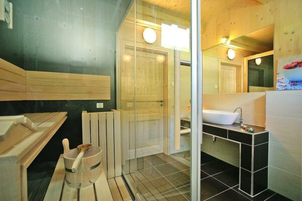 Murau Wintervilla Sauna
