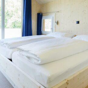 Murau Wintervilla Schlafzimmer