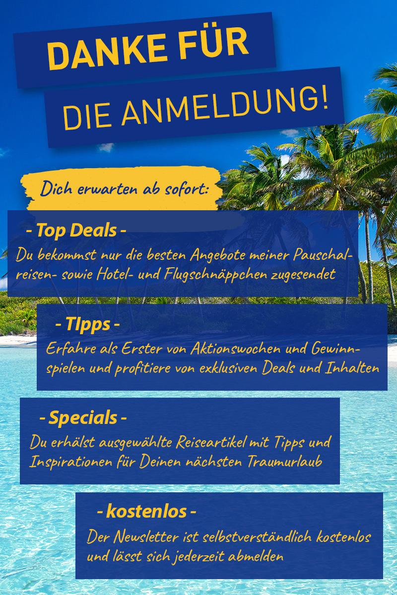 Newsletter Bestätigung Sommer