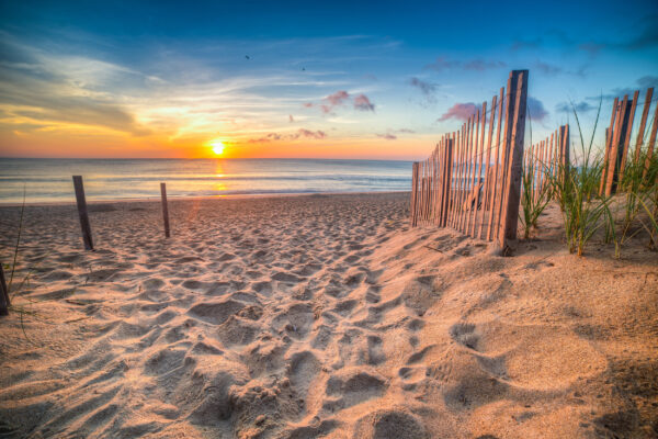Niederlande Dünen Sonne