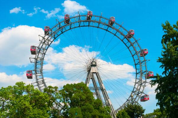 Wien Riesenrad Sommer