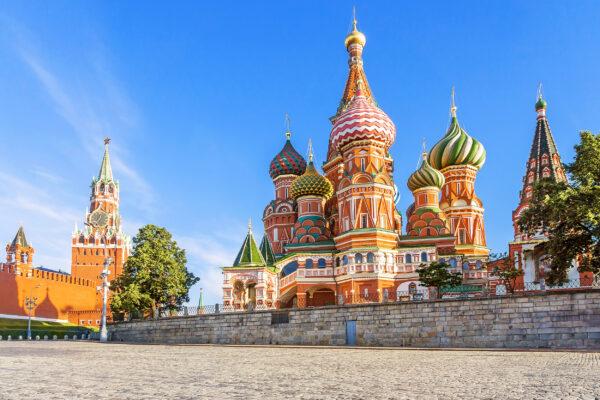 Russland Moskau Kathedrale