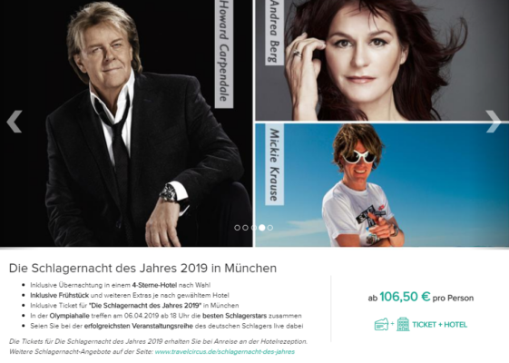 2 Tage Schlager