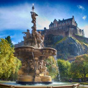 Wochenende in Edinburgh: 3 Tage Schottland mit Unterkunft & Flug nur 37€