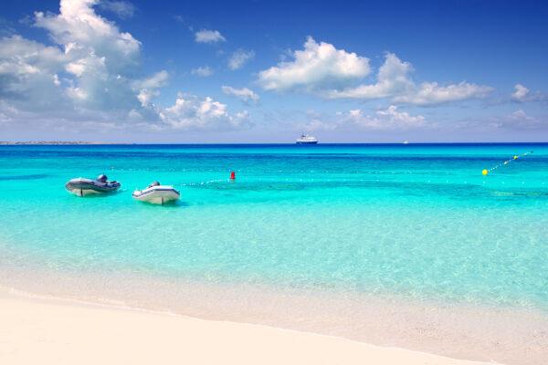 Spanien Balearen Formentera Strand
