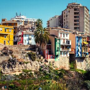 Urlaub an der Costa Blanca: 8 Tage Spanien mit Apartment & Flug nur 87€