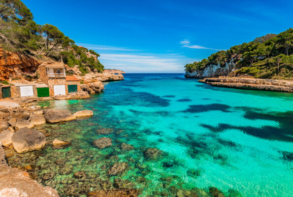 Spanien Mallorca Cala Loombards Santanyi