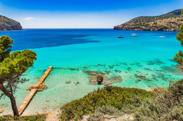 Spanien Mallorca Camp de Mar Aussicht