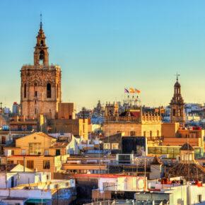 Kurztrip nach Spanien: 3 Tage Valencia im 4* Hotel & Flug nur 76€