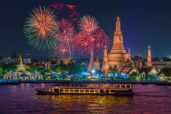 Thailand Bangkok Boot Silvester