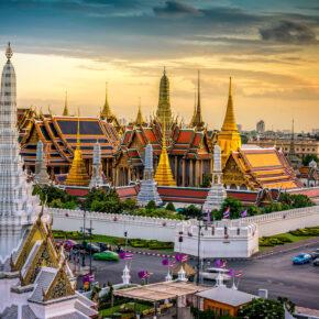 Thailand Bangkok großer Palast