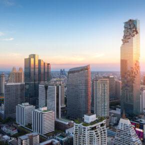Thailand Bangkok Hochhäuser
