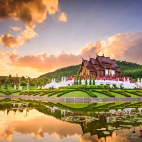 Thailand Chiang Mai Royal Flora Ratchaphruek Park