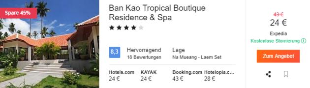 Thailand Hotel Deal