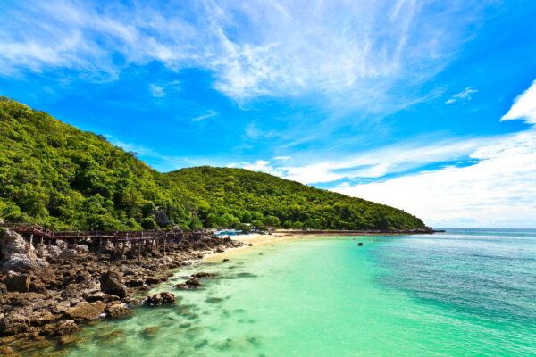 Thailand Koh Chang Meer Strand