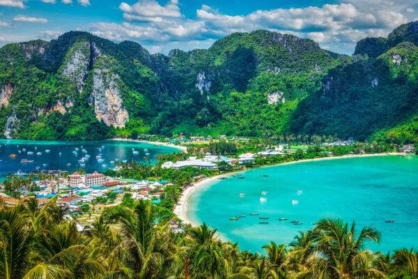 Thailand Krabi Ausblick Strand