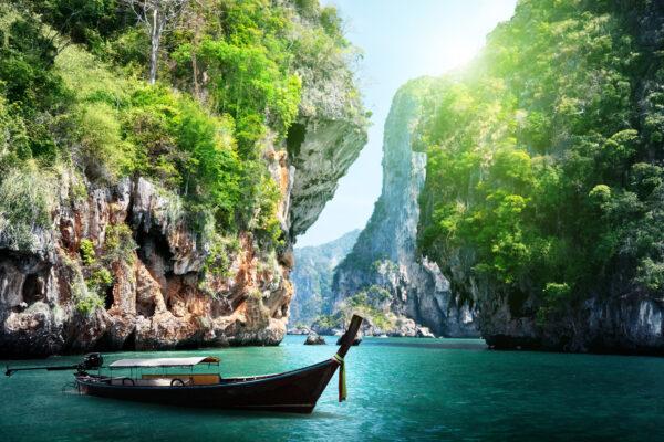 Thailand Tipps Krabi Boot Klippe