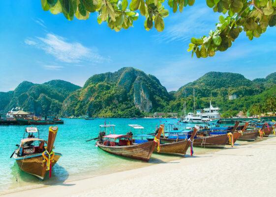 Thailand Krabi Boote