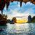 Thailand Krabi unter der Klippe