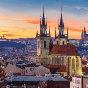 Tschechien Prag Burg