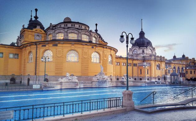Ungarn Budapest Szechenyi Spa