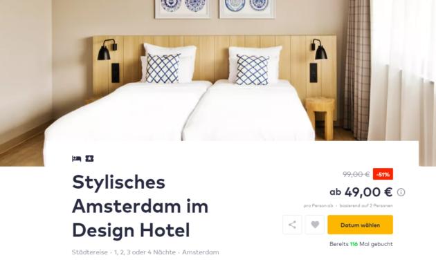 Amsterdam Hotel Deal
