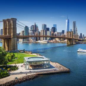 2021 nach New York City: 8 Tage im 3* Hotel in Manhattan inkl. Direktflug für 453€