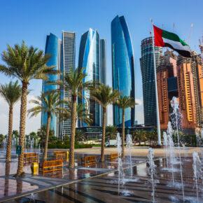 Luxus-Urlaub: 7 Tage Abu Dhabi ins TOP 5* Hilton mit Frühstück, Flug, Transfer & Zug nur 435€
