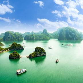 13 Tage Vietnam Rundreise mit Hotels, Frühstück, Flug, Transfer, Zug & Extras nur 1.429€